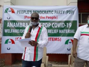 Anambra 2021: No individual can produce PDP governorship candidate — Chairman