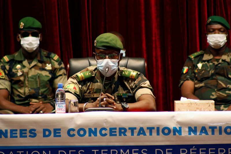 West Africa leaders press Mali junta over transition