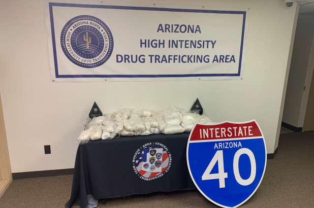 Police dog in Arizona sniffs out $4m worth of methamphetamine
