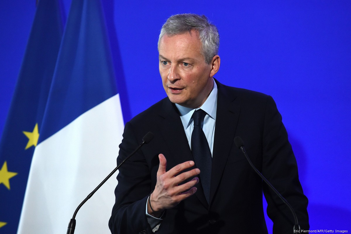 France's economy minister tests positive for COVID-19