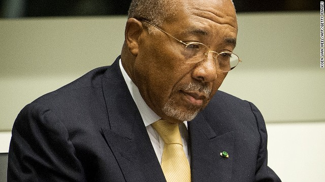 Liberia's Charles Taylor bid to move prison rejected