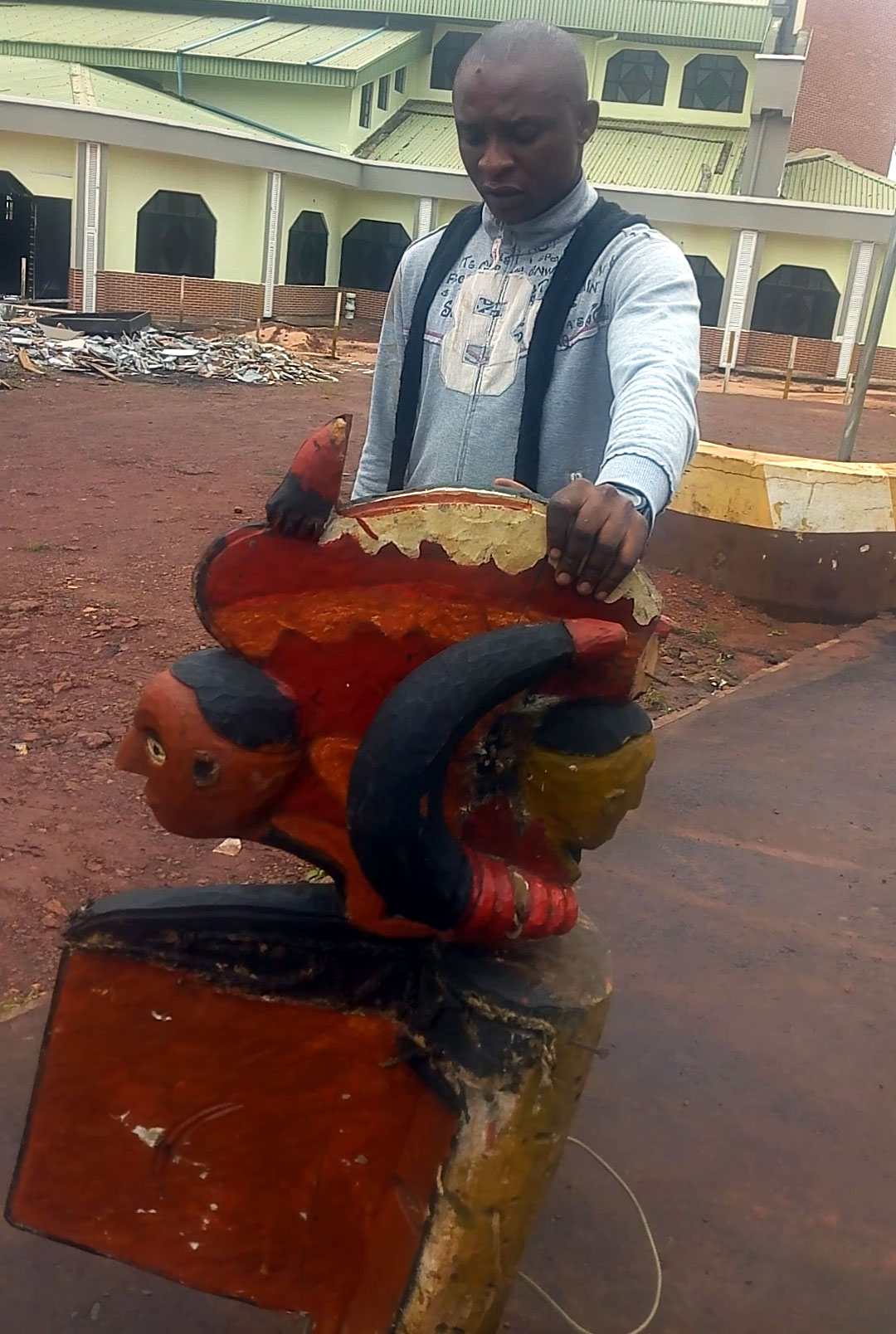 Man 'arrests' Nsukka deity for making his business fail