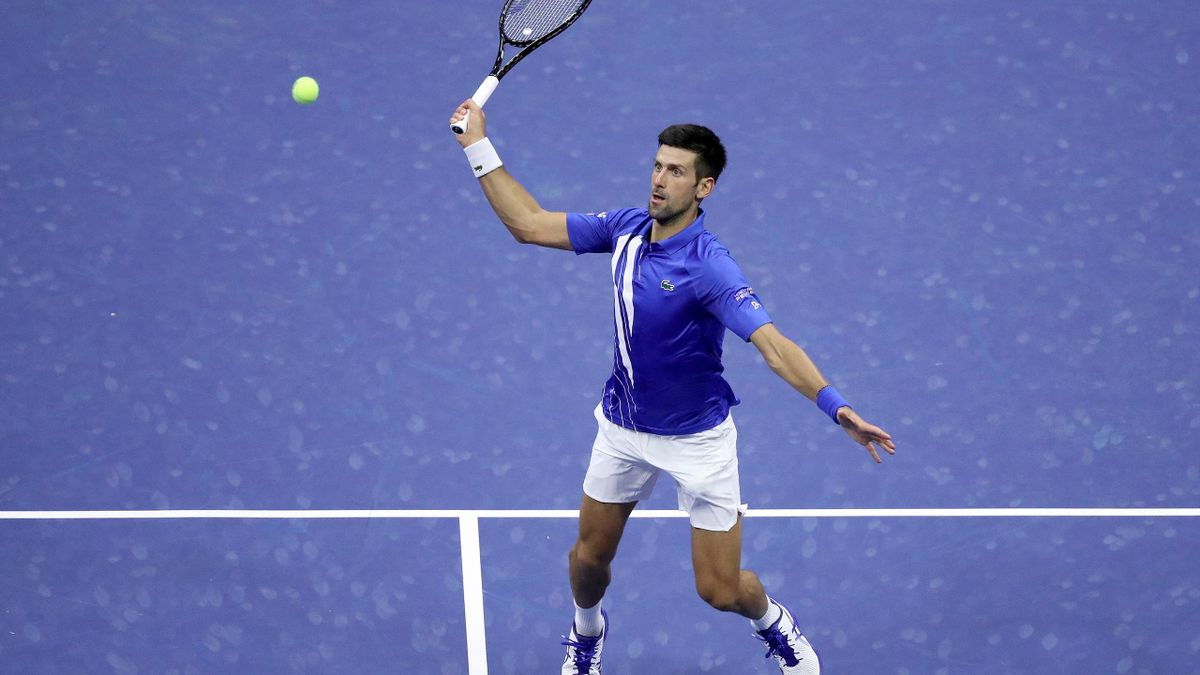 French Open Djokovic Hits Line Judge With Ball