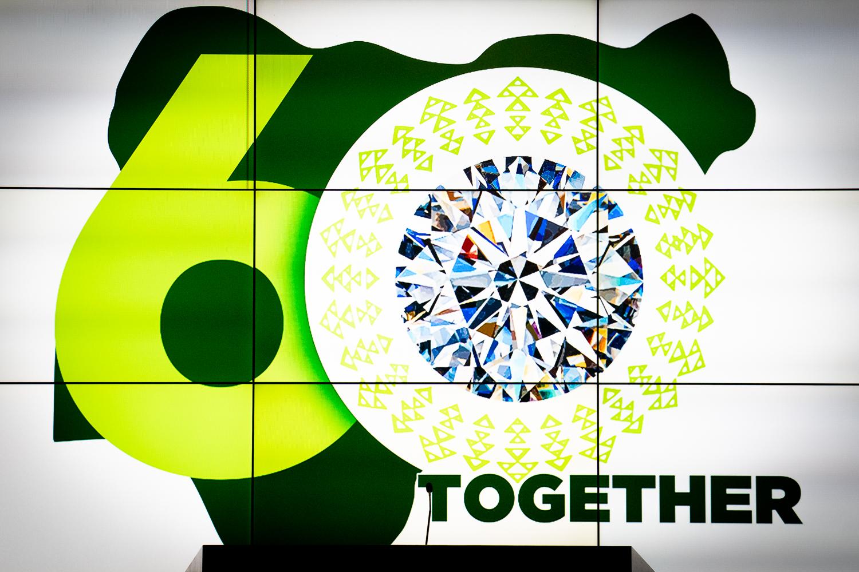Nigeria at 60 Anniversary Logo