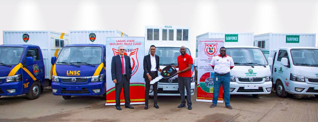 Foundation donates five Trucks to aid fight against security challenges