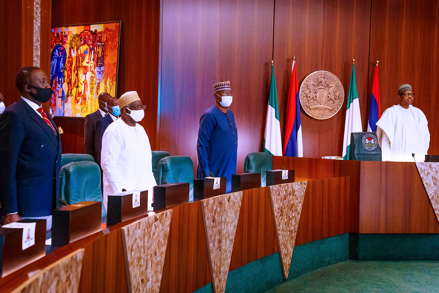 Buhari presides over meeting of National Food Security Council