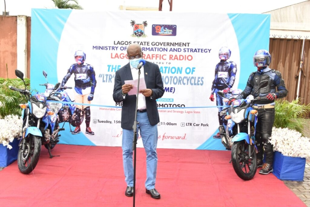 Transport, waste mgt: Sanwo-Olu launches Live Report motorcycles, LAWMA academy initiatives
