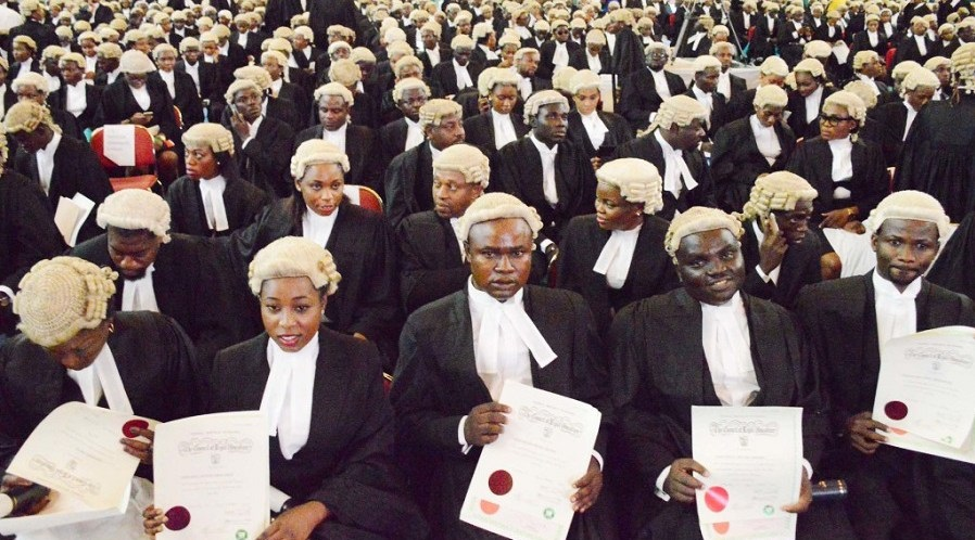 1,785 new lawyers admitted into Nigerian Bar