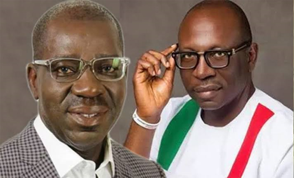 Breaking: Obaseki leads Ize-Iyamu with 50k votes in 11 LGA's