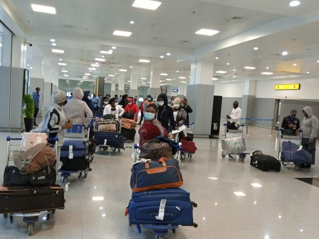 Community sponsors repatriatation of 43 Nigerian women stranded in Lebanon