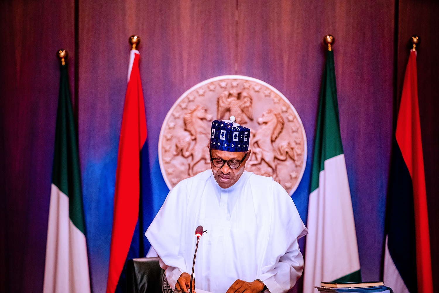 #EndSARS: Don't aggravate the situation, Buhari warns security agencies