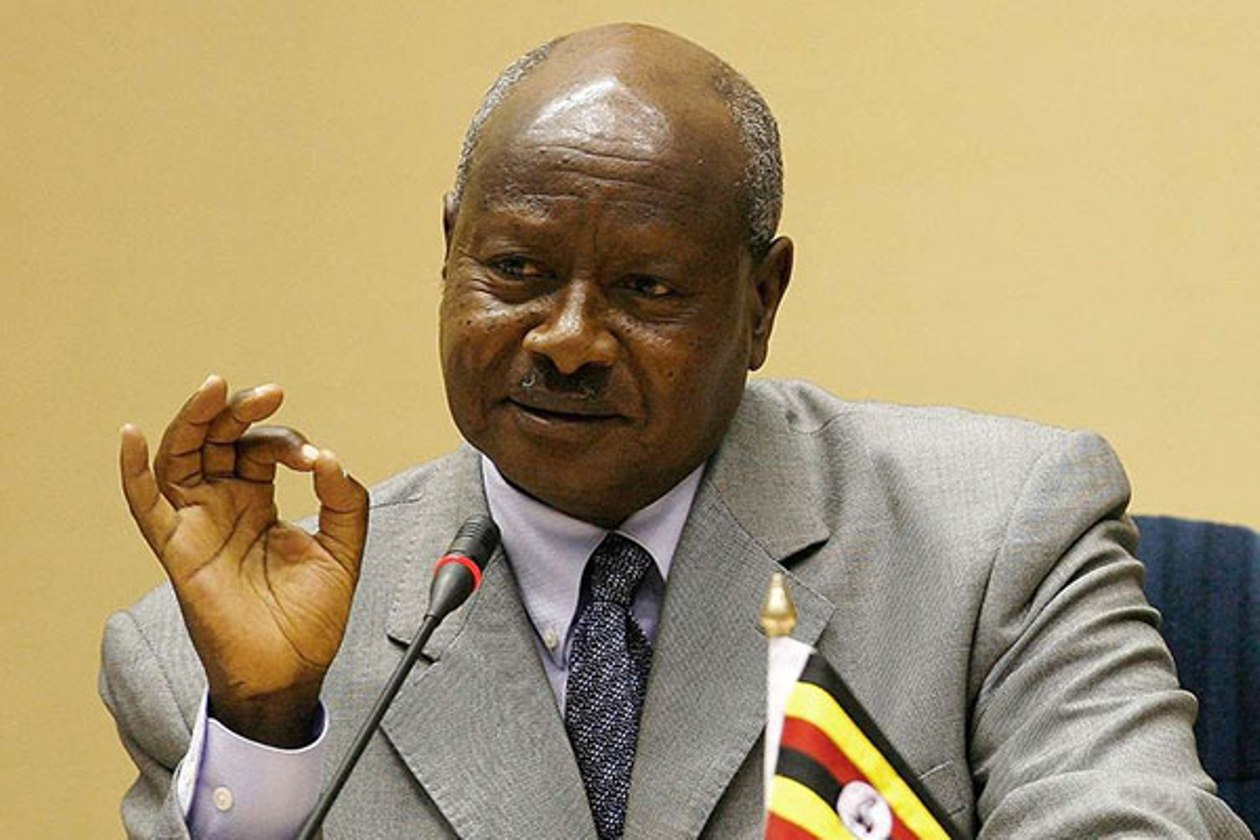Ugandan president meets with senior Chinese diplomat on bilateral ties