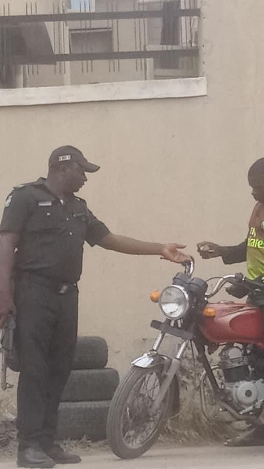 Inspector extorting motorcyclist to face trial in Lagos