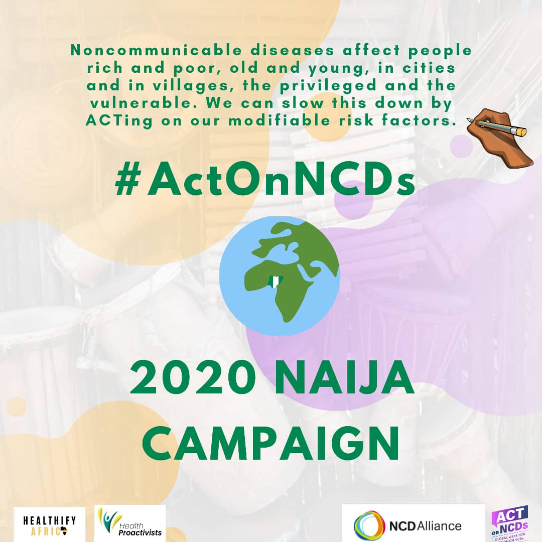 Global week for action on NCDs: Health Organisations urge Nigerians to act towards prevention