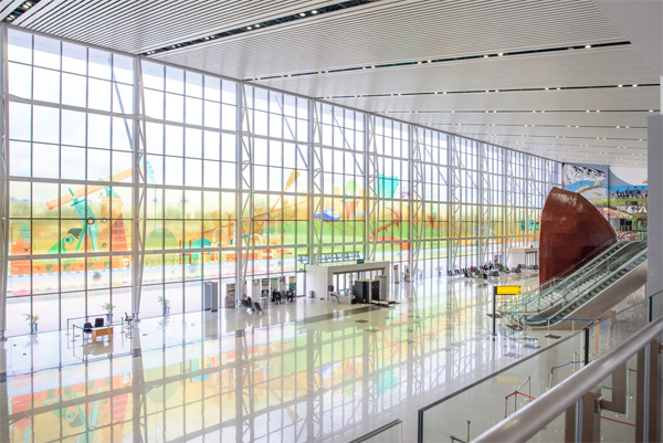 Photos: See Port Harcourt International Airport designed by Spacefinish - Vanguard