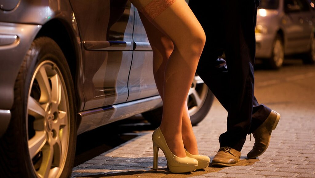 Prostitution legal in Sweden, but illegal to be a prostitute's customer