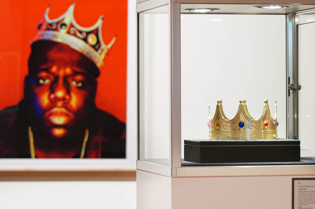 Notorious B.I.G.'s $6 plastic crown sells for $594,750 in auction
