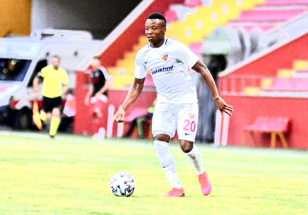 Anthony Uzodimma impresses in Kayserispor Super Lig win