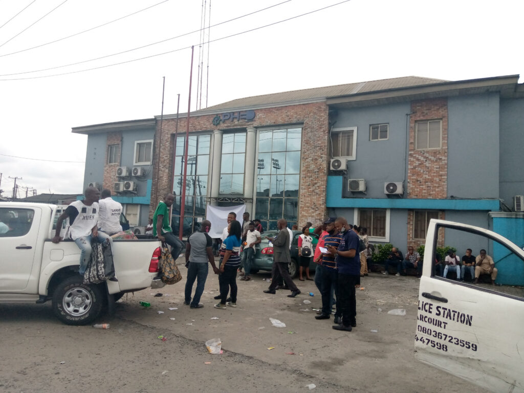 Labour union shuts down electricity distribution company's office in Port Harcourt