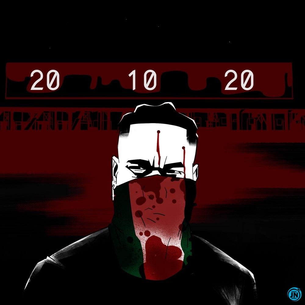 #EndSARS: Burna Boy dedicates new single '20 10 20' to victims