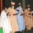 PHOTOS: Buhari inaugurates newly appointed NPC commissioners