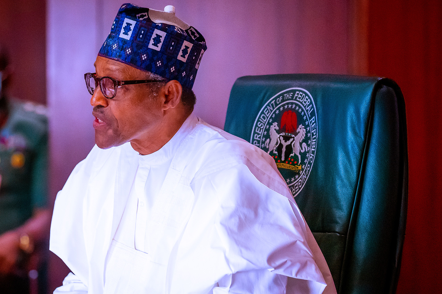 Protests: Buhari condemns hate messages, eviction notices