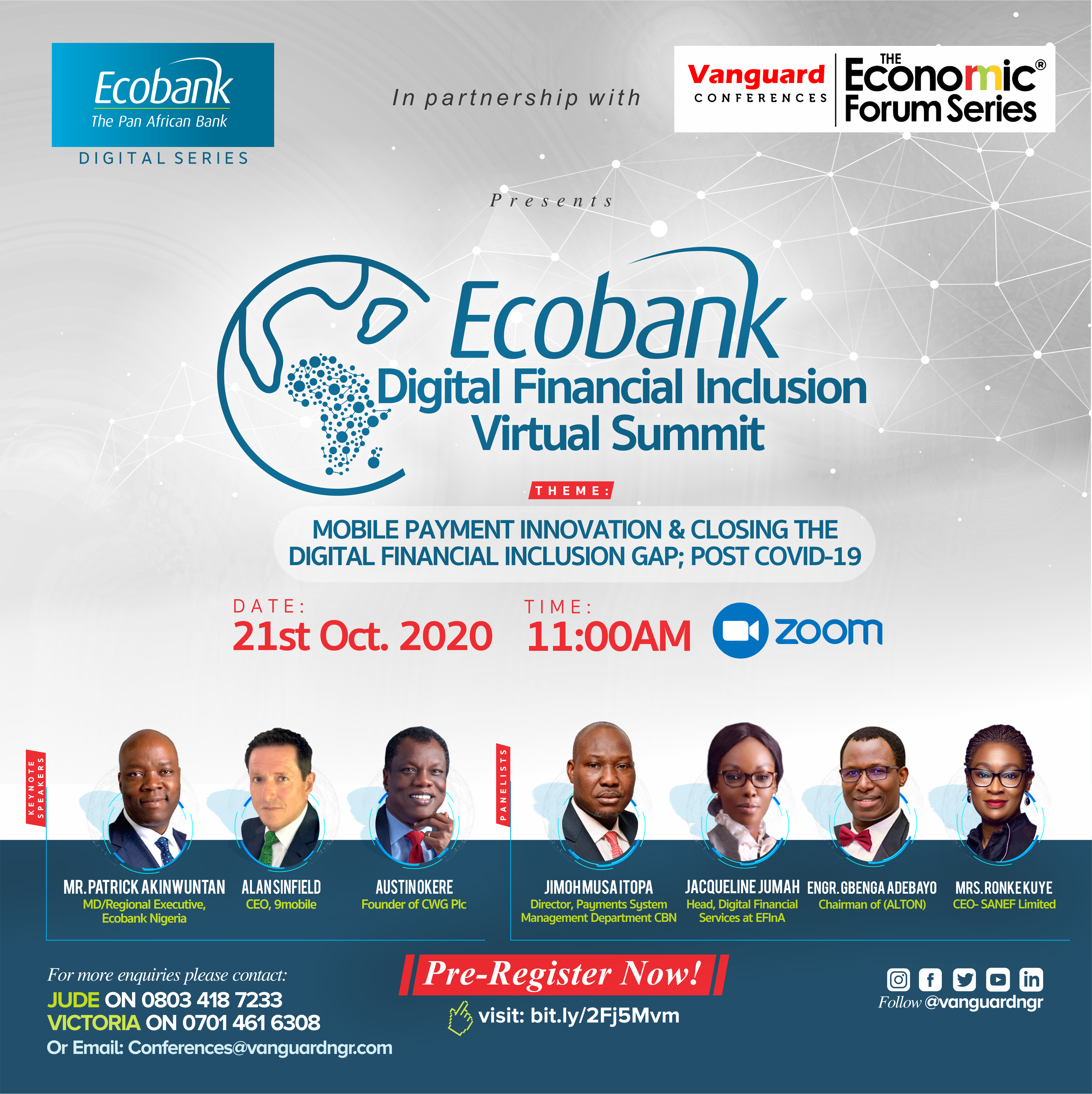 Ecobank DFIS social media