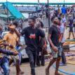 Govt workers trek as #EndSARS protesters ground Abeokuta, block major roads