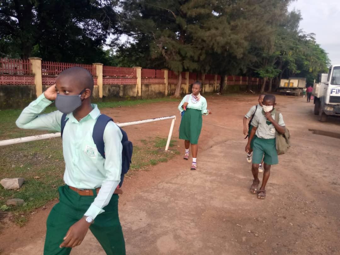 F 6 PHOTOS: Schools resume in FCT