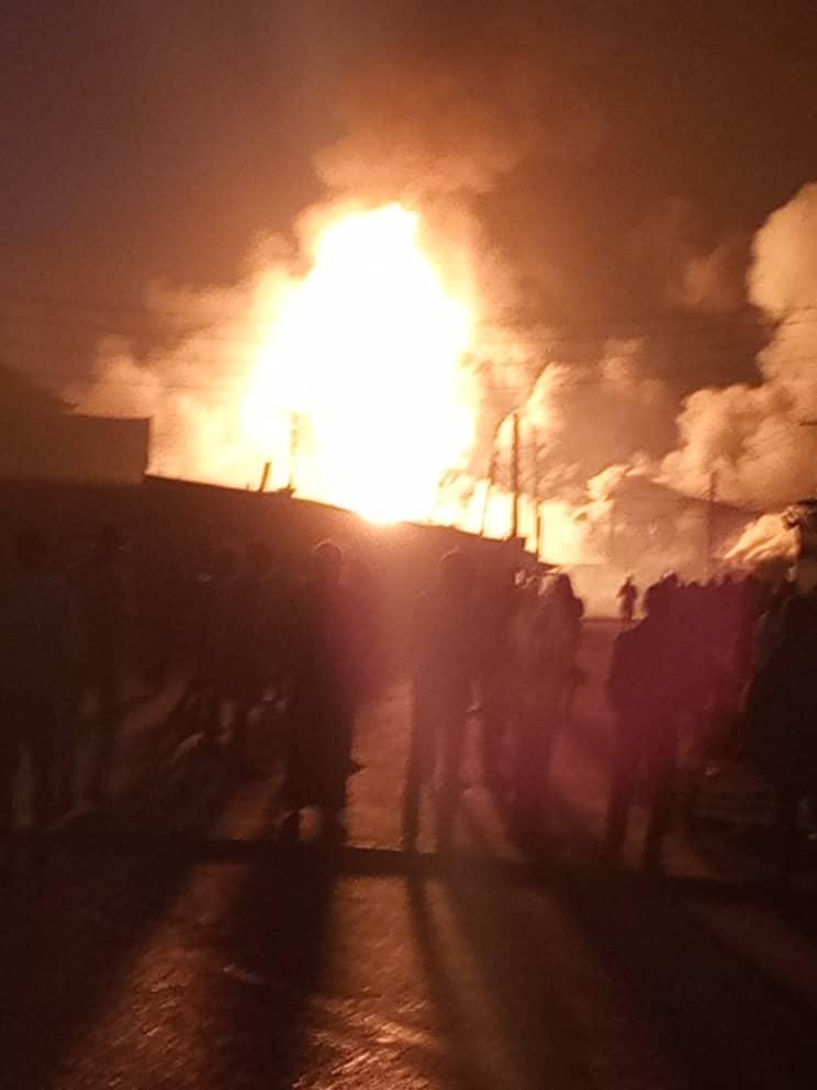 BREAKING: Again, gas explodes in Lagos