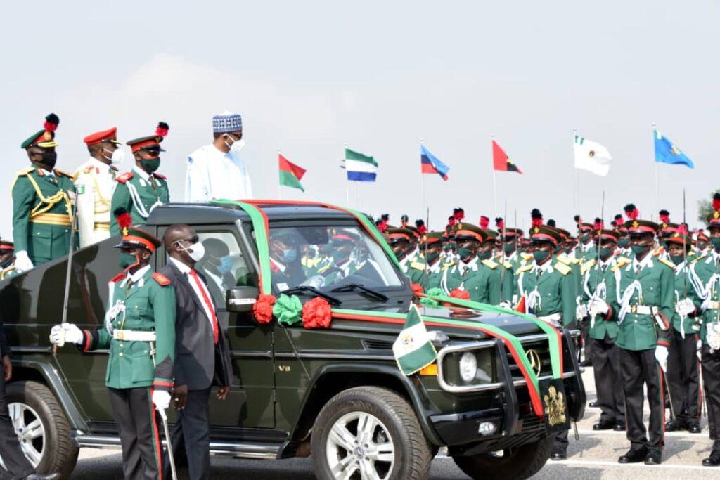 PHOTOS: Passing -out parade of Nigerian Defence Academy, Kaduna