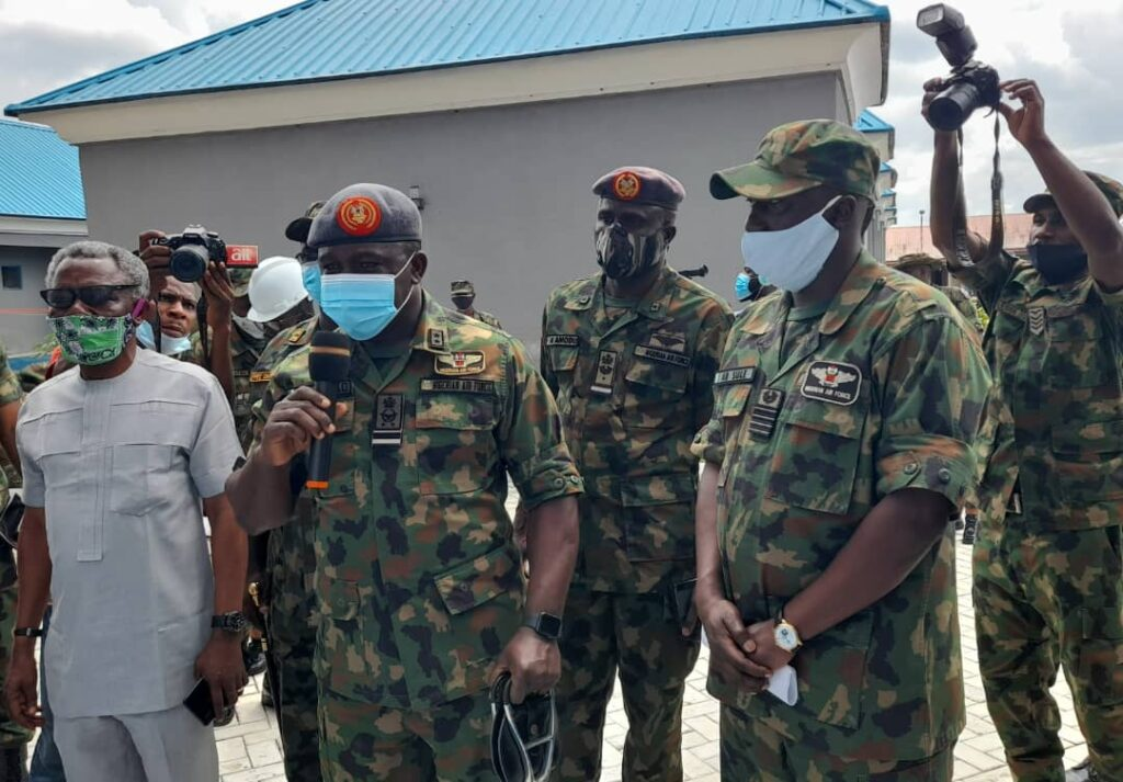Chief of Air Staff inaugurates airmen quarters in Calabar