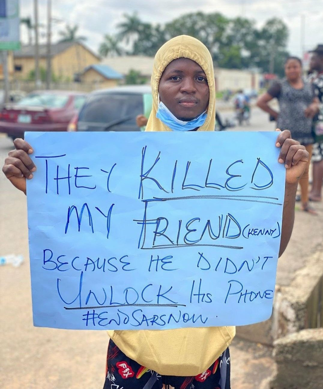 #ENDSARS HEARINGS: I couldn't seek justice for late son because of SAN's fee, man tells panel