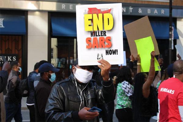#ENDSARS protesters locked down Ekiti