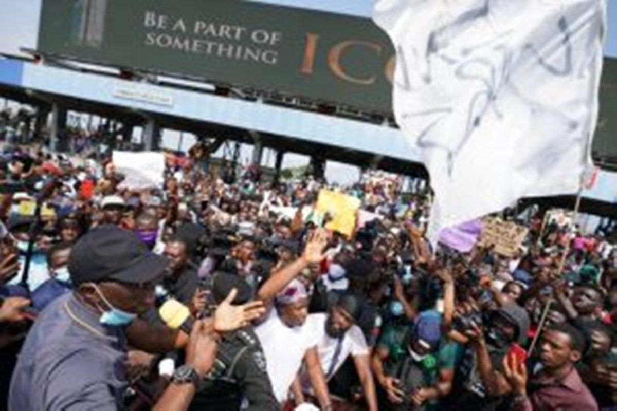 Please get Treasure, Felicia, Ojabodu released, protesters tell Sanwo-Olu