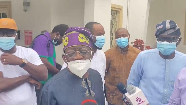 VIDEO: I still hold title of Asiwaju of Lagos, I'm still Jagaban, Tinubu says