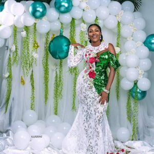 #NigeriaAt60: Celebrities slay in colourful green and white attires (PHOTOS)
