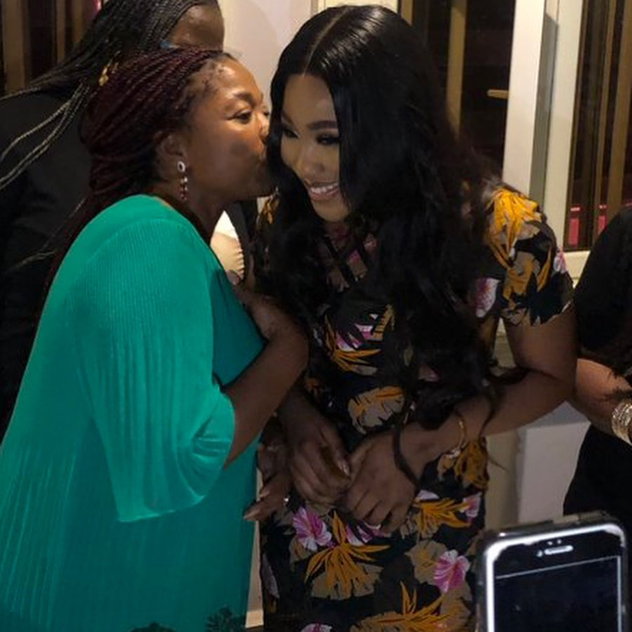 BBNaija 2020: I support Kiddrica ship, Kiddwaya's mom says as she meets Erica, fans [VIDEO]