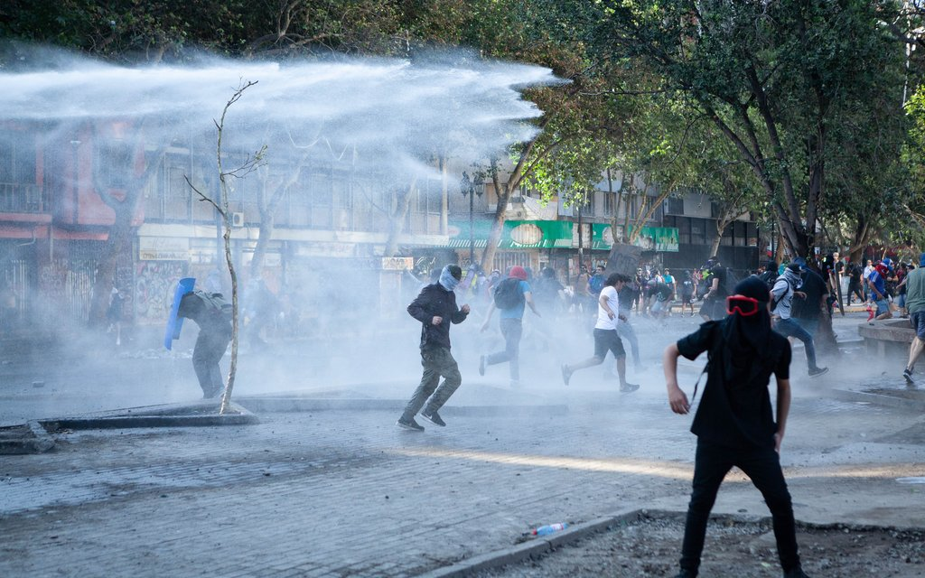 Chilean police brace for anniversary of deadly protests