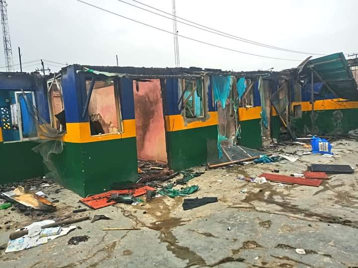 Igando-Ikotun LCDA boss inspects vandalised sites