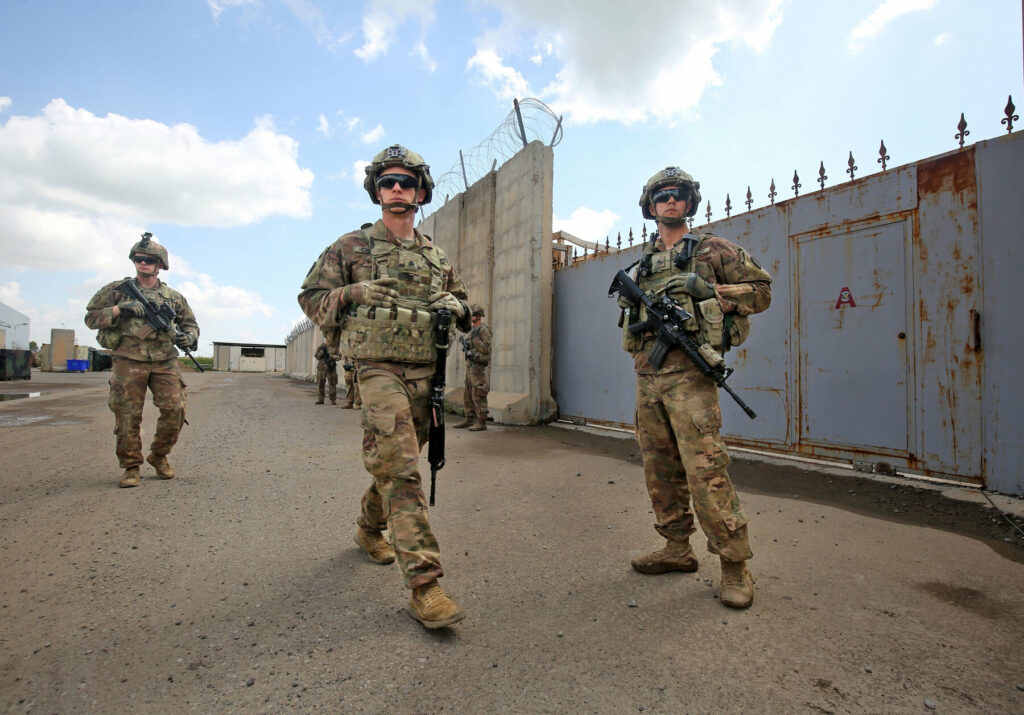 US aims to cut troop levels in Afghanistan and Iraq by mid-January