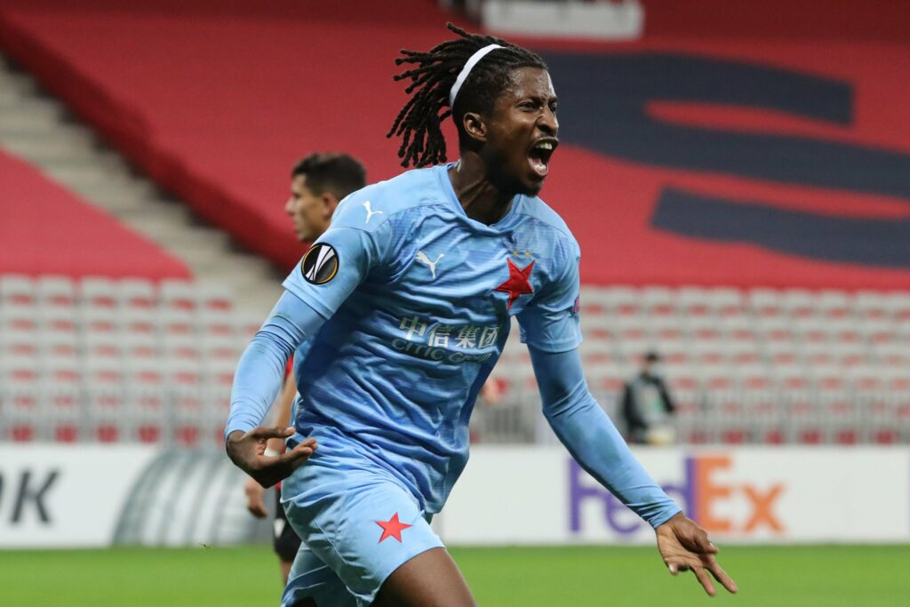 EUROPA LEAGUE: Olayinka scores in Slavia win, Iheanacho, Chukwueze fire blanks