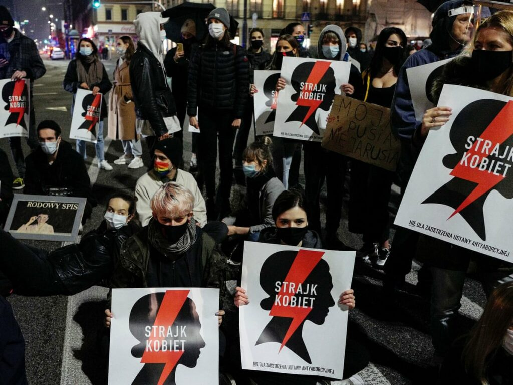 Demonstrations resume against effective Polish abortion ban