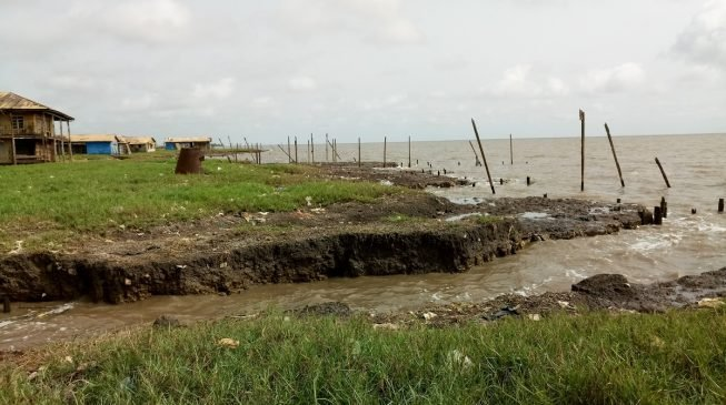 Over 2000 residents of Ondo coastal community sacked by ocean surge
