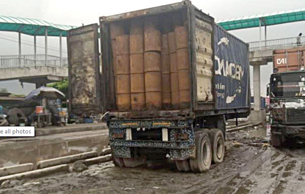 Customs, NESREA disagree over content of abandoned container-load of suspected toxic waste