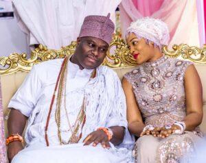 Ooni of Ife, his wife, Queen Silekunola, welcome newborn prince