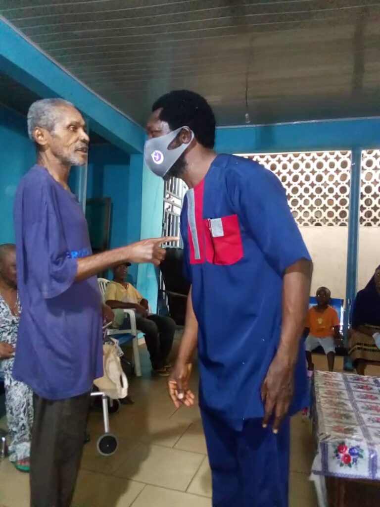 World Diabetes day: NAS takes testing to old people's home in Calabar