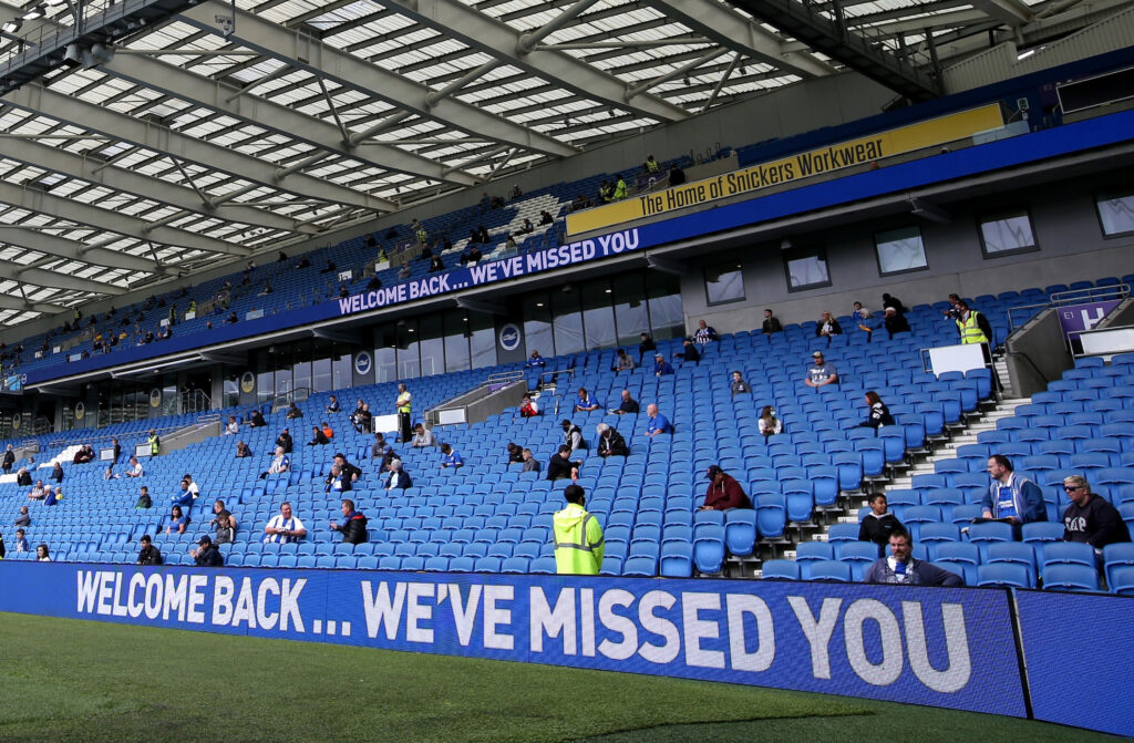 allow fans back into stadiums
