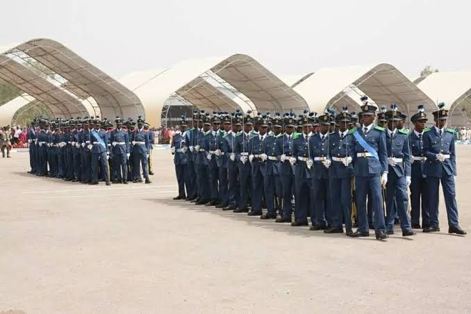 """The Nigerian Air Force (NAF) Institute of Administrative Management (NAFIAM), has completed the training of 50 personnel on sundry courses. The News Agency of Nigeria (NAN) reports that the combined graduation ceremony of the students who undertook courses on 'Admin Upgrading', comprising the Admin A2 – A1 Upgrading Course 1/2020, and the Admin A3 – A2 Upgrading Course 1/2020, took place on Friday in Kaduna. In his speech, the Chief of Air Staff (CAS), Air Marshal Sadiq Abubakar, said the activation of NAFIAM could not have come at a better time than now that the Force is in need of robust and service-oriented administrative workforce. Abubakar, represented by the Acting Chief of Administration, NAF Headquarters, Air Vice Marshal (AVM) Aliyu Pani, said that NAF had embarked on restructuring and training of aircrew and non-aircrew personnel across all specialties and trades, both in Nigeria and abroad. """"While these trainings are ongoing, frantic efforts were made to ensure that aircraft were regularly available to boost NAF operations by promptly providing aircraft spares,"""" Abubakar said. He said that the administration equally embarked on infrastructural development through the execution of over 900 projects which included the upgrade and provision of additional housing, schools, hospitals, operational and recreational facilities. """"These efforts have led to the accommodation of over 7,500 families, aimed at enhancing the welfare of personnel thereby improving the operational output of NAF,"""" he said. He said the courses undertaken by the graduands were designed to adequately prepare them to provide workable solutions towards solving administrative challenges that might come up in the course of their daily service. He urged them to be resourceful in applying what they learnt. """"I implore you to remain steadfast as you strive to fully develop your potentials and enhance your confidence to inspire, mentor others and uphold the high standard of discipline that the force i"""