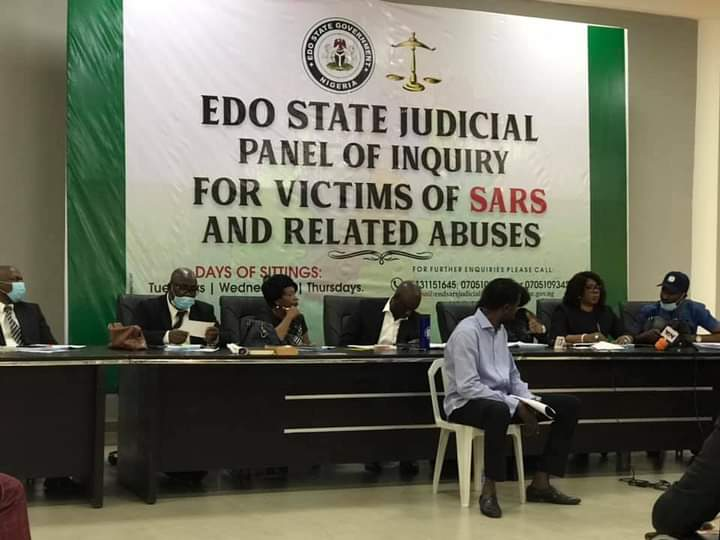 Edo EndSARS panel summons 2 police chiefs to explain roles in extortion, assault of woman